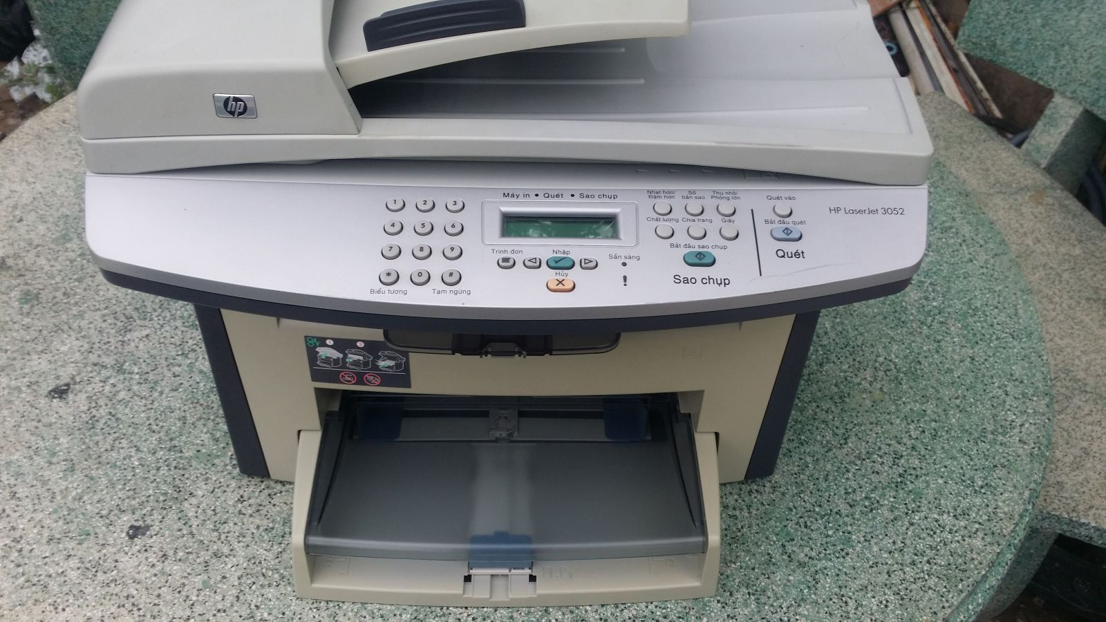 Máy in HP LaserJet 3052 All in One (mới 90%)