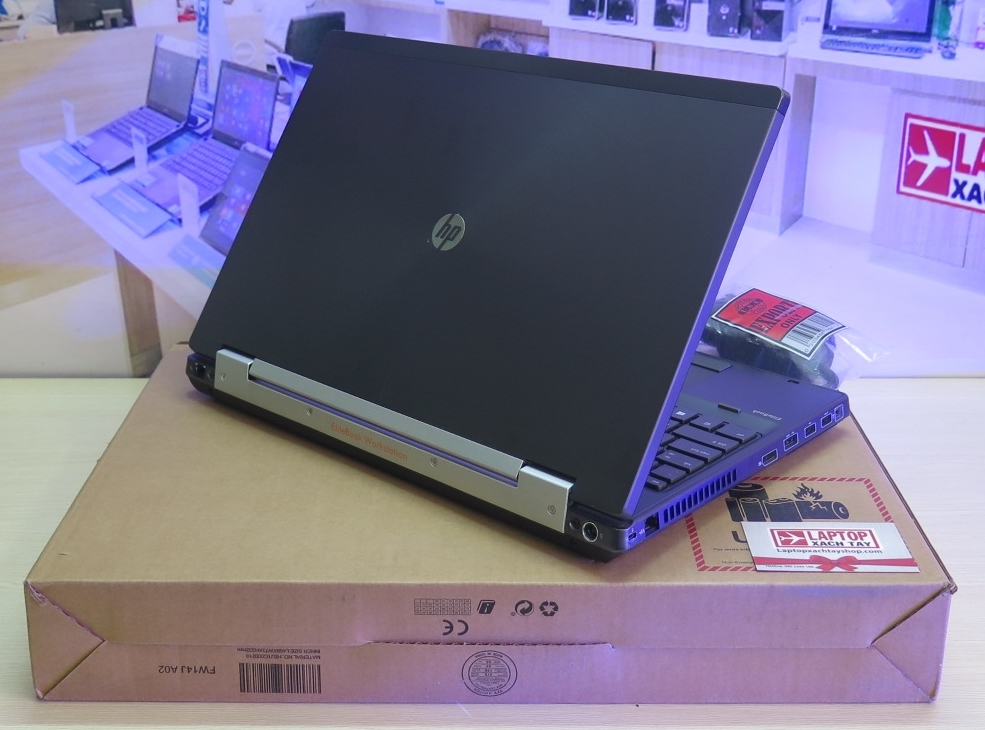 HP Elitebook Workstation 8570w i7 3740QM_8GB