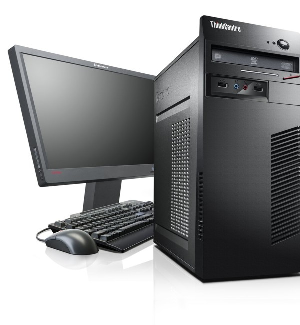 Lenovo ThinkCentre EDGE 72, Intel Core i3-3240 3.40GHz, Ram 2GB, HDD 500GB, DVDRW, Free Dos