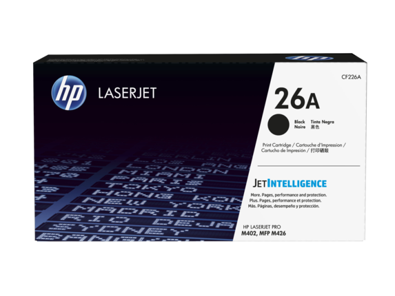 Mực in HP 26A Black Original LaserJet Toner Cartridge (CF226A)