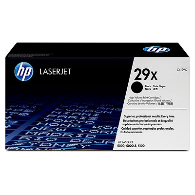 Mực in HP 29X Black LaserJet Toner Cartridge (C4129X)