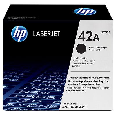 Mực in HP 42A Black LaserJet Toner Cartridge (Q5942A)