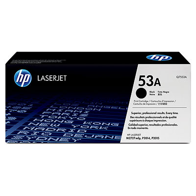 Mực in HP 53A Black LaserJet Toner Cartridge (Q7553A)