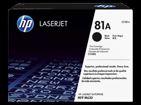 Mực in HP 81A Black LaserJet Toner Cartridge (CF281A)