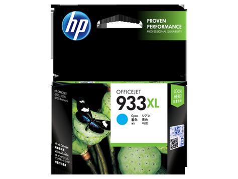 Mực in HP 933XL High Yield Cyan Original Ink Cartridge (CN054AA)