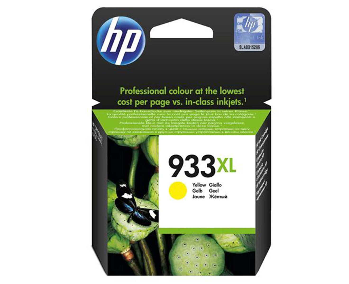 Mực in HP 933XL High Yield Yellow Original Ink Cartridge (CN056AA)