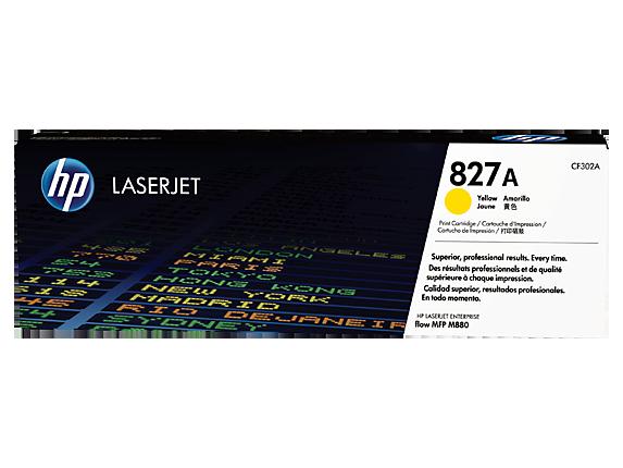 Mực in Laser màu vàng HP 827A Yellow Original LaserJet Toner Cartridge (CF302A)