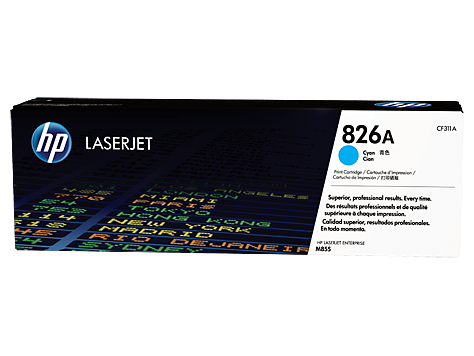 Mực in Laser màu xanh HP 826A Cyan Original LaserJet Toner Cartridge (CF311A)