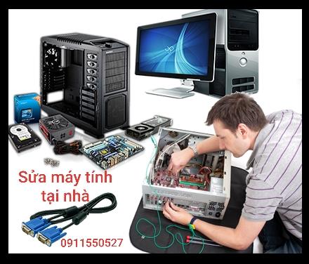 Sửa máy tính tại nhà Bình Dương